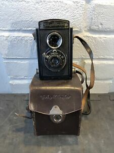 Vintage Voigtländer Brillant  Camera in Original Case