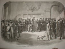 Civil War in USA claiming draft exemption New York 1863 print