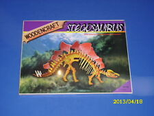 Woodencraft - 3D Puzzle Stegosaurus aus Holz Dino