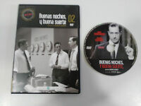 BUENAS NOCHES Y BUENA SUERTE DVD SLIM GEORGE CLOONEY ESPAÑOL ENGLISH nueva