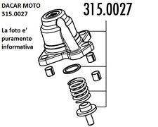 315.0027 Couverture Régulateur POLINI Aprilia Sr 50 R-Factory Injection Piaggio