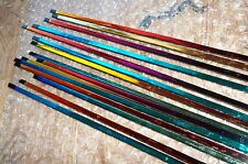 Fusing Glass Supplies Austin COE 96 Dichroic Noodles Rainbow on Black