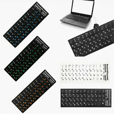 1pc Russian Keyboard Sticker Standard Layout Durable 18*6.5cm Color Random