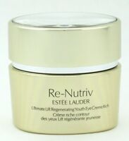 Estee Lauder Re-Nutriv Ultimate Lift Reg. Youth Eye Creme Rich 15 ml New Tester