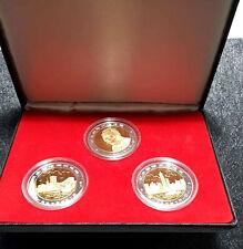 1997 Hong Kong Return To China Commemorative Plated Medal (FREE 1 B/note) #D8315