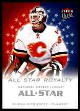 2008-09 Ultra All-Star Royalty  Mikka Kiprusoff #ASR18