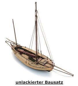 Artitec 50.144 - 1:87: Zeesenboot, Bausatz, unlackiert - NEU + OVP