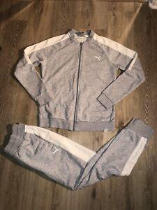 Puma Womens Set Of Sweatpants And Jacket Size M/ L