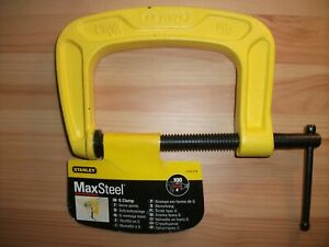 """Stanley Bailey G-Clamp 100mm / 4"""" 0-83-034"""