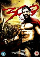 300 DVD NEW and SEALED 2007 This is sparta! Action Film - Gerard Butler