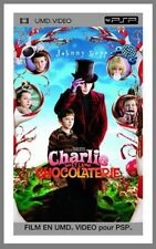 UMD Video PSP / Charlie et La Chocolaterie by Tim Burton / Warner Bros / Neuf