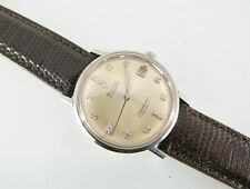 Vintage Omega Seamaster DeVille Automatice Gold 17 diamond dial watch