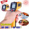 UK Non-Contact LCD Laser Infrared Digital Temperature Thermometer Gun Pyrometer^