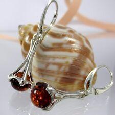 A359 Ohrringe Earrings 925 Sterling Silber Schmuck baltische Bernstein Amber