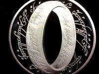 Moneda conmemorativa del señor de los anillos Nueva Zelanda 2003 anillo único