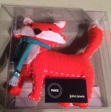 Fox Pin Cushion by JOHN LEWIS Cute Orange Fox wearing a Scarf RRP £9 Sewing