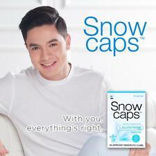 Snow Caps L-Glutathione 30 capsules Dietary Supplement new stock AUTHENTIC