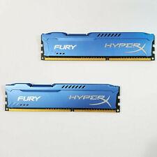 Kingston HyperX DDR3 8GB Kit ( 4GBx2 )1600MHz CL10 PC3-12800  (HX316C10FK2/8)