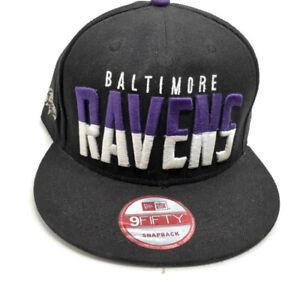 Baltimore Ravens Ball Cap New Era 9 Fifty Snapback Adjustable  Football NFL