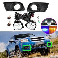 LED Left Right Side Fog Light Lamps Wiring Kits For Mazda BT-50 UN CD 2008-2011