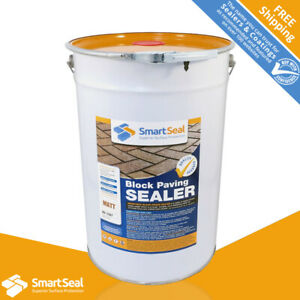 SMARTSEAL Block Paving Sealer MATT (3 size) Weed, Stain & Colour Loss Protection