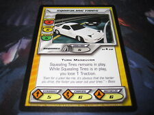 Squealing Tires - Initial D Uncommon Card CCG Tokyopop 97/216