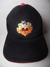 HOG WILD $400,000 GIVEAWAY Pig Hawg Motorcycle Advertising ADJUSTABLE HAT CAP