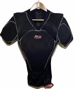 Adams  UCP-LP-S-BK Umpire Chest Protector Low Profile Shirt Black SMALL