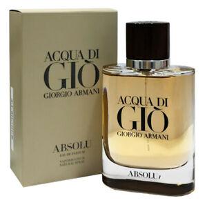 GIORGIO ARMANI Acqua di Giò Absolu Eau de Parfum - EDP 75 ml Natural Spray