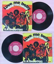 LP 45 7'' SHEILA B DEVOTION Love me baby 1977 france CARRERE 49.288 no cd mc dvd