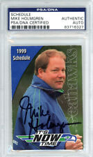 Mike Holmgren Autographed Signed 2.5x3.5 1999 Schedule Seahawks PSA/DNA 83716327