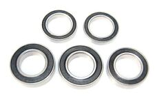 Pack of 5 6802 61802 15x24x5mm 2RS Thin Section Deep Groove Ball Bearing