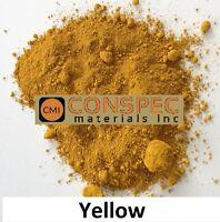 YELLOW Concrete Color Pigment Dye Colorant for Cement Mortar Grout Plaster 1 LB