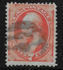 US Scott #138, Single 1870 Stanton 7c FVF Used