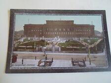 "Rare Old Postcard St George's Hall, Liverpool Valentines ""Crystoleum"" J.V. 62394"