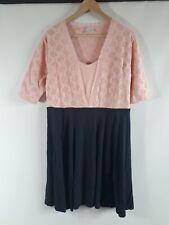 Bodyflirt Abendkleid pink Größe 44