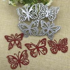 4x NEW Butterflies Metal Cutting Dies Stencil Scrapbooking Paper Card Craft DIY