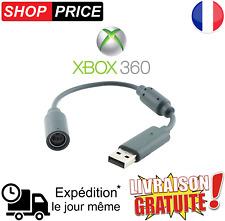 Câble USB adaptateur convertisseur pour manette XBOX 360 sur PC (NEUF)