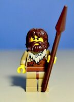 LEGO City Caveman With Spear Minifigure Train Town Scenery 60197 60198