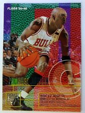 1995 95-96 Fleer Michael Jordan #22, Chicago Bulls, HOF