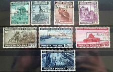 Poland – 1941 Exiled Polish Government  in London GB  –  Fine Used Set (Se1)