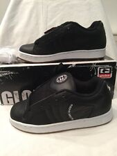 Globe Focus Black Leather Mens Kids Childrens Boys Skate Shoes UK Size 5 BNIB