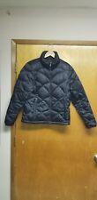 The North Face Womens MED Alis Jacket Black Full Zip Coat Winter 550 Down Puffer