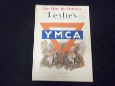 1918 OCTOBER 26 LESLIE'S WEEKLY MAGAZINE - AFTER THE BATTLE - ST 2221