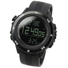 LAD WEATHER German Sensor Altimeter Barometer Black Outdoor Sports Watch