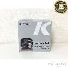 PENTAX telescopic single focus lens DA 50 mm F 1.8 K mount APS - C size 22177