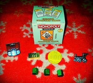 Monopoly Surprise Walmart Exclusive Tokens ULTRA-RARE #6 Series 1 GOLD Gurantee