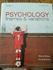 psychology themes and variations second Canadian edition