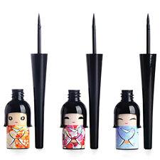 Cute Japanese Doll Waterproof Black Liquid Eyeliner Pen Makeup Fashion.