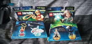 LEGO DIMENSIONS FUN PACK 71209 WONDER WOMAN + 71257 FANTASTIC BEASTS